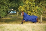 Horseware Amigo Hero ACY Plus lite 0g  mit Halsteil Atlantic Blue