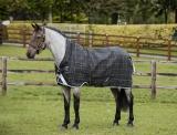 Horseware RHINO  WUG 0g lite Regendecke Black/ grey