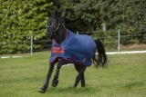 Horseware Amigo Mio Turnout lite dark blue red Weidedecke Regendecke