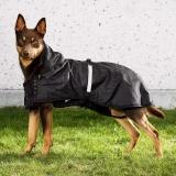 Back on Track Hunde-Regendecke Allwetterdecke ungefüttert 29-34 cm